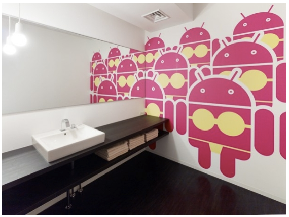 Dames-WC Google Tokyo